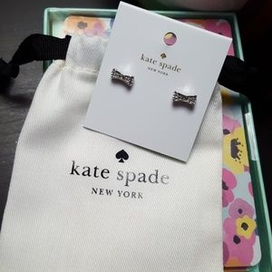 Kate Spade Tiny Bow earrings